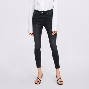 ZARA THE 80'S SKINNY JEAN IN SMOKEY BLACK